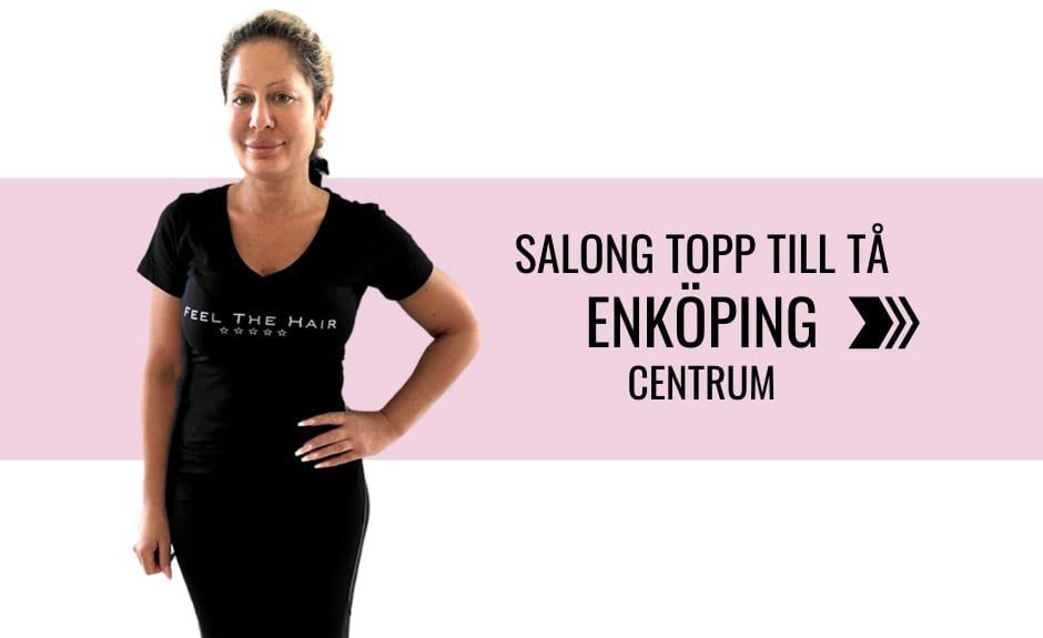 Välj salong topp till tå i Enköping