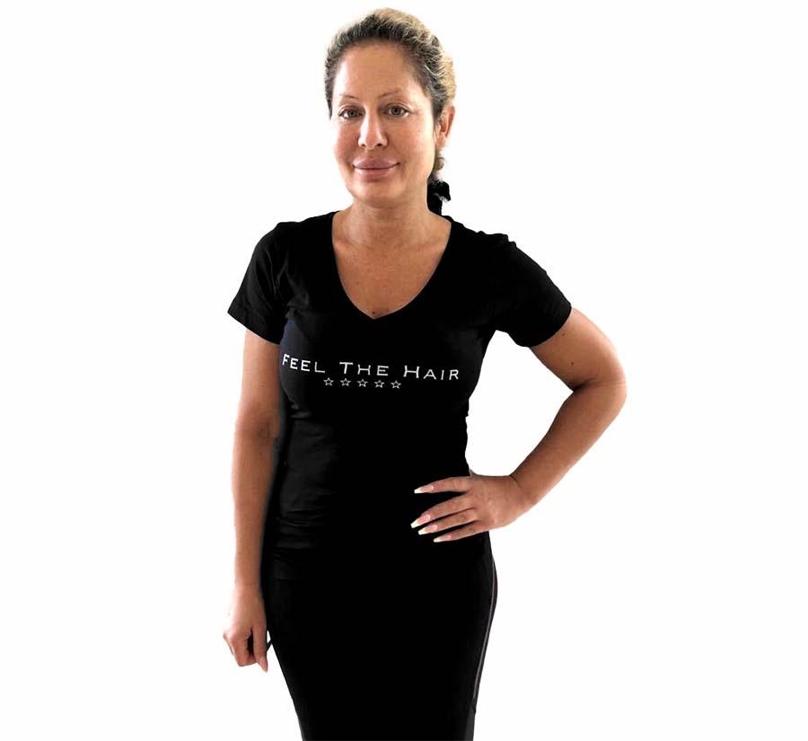Maria hårförlängning stylist i Enköping