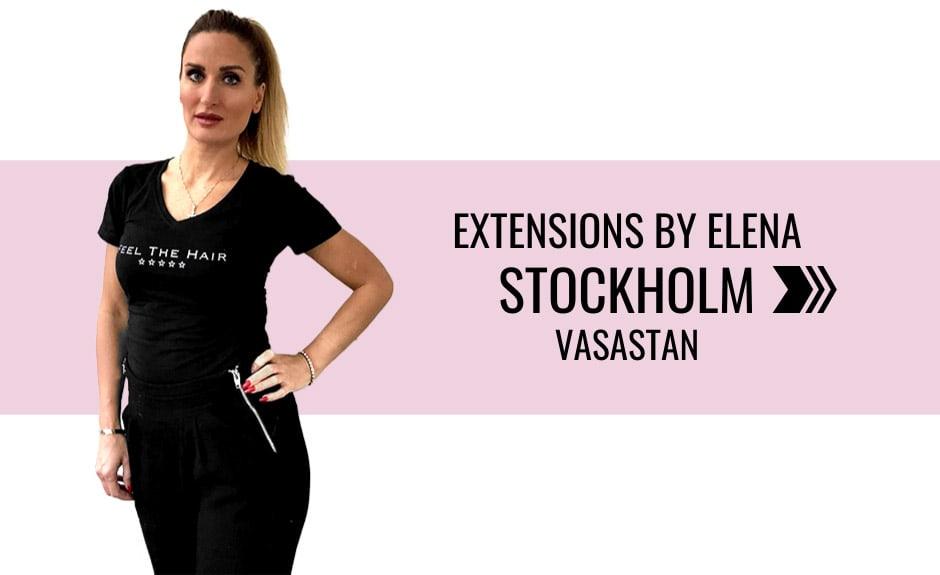 Välj stylist Elena i Stockholm