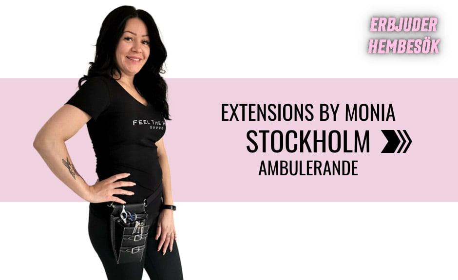 Välj stylist Monia i Stockholm