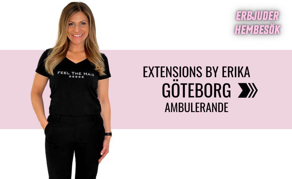 Välj stylist Erika i Göteborg